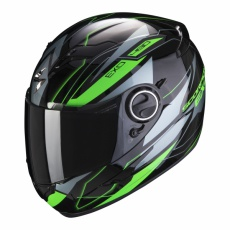 Moto přilba SCORPION EXO-490 NOVA černo/zelená