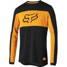 Pánský dres Fox Ranger DR Foxhead LS Jersey Black
