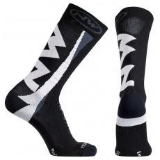 Pánské cyklo ponožky Northwave Extreme ocks Black/White