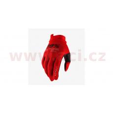 rukavice iTRACK, 100% - USA (červená)
