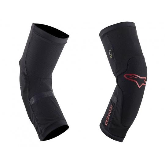 Alpinestars PARAGON PLUS knee Black/Red- chrániče kolen