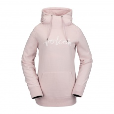 Dámská mikina Volcom Costus P/Over Fleece Faded Pink