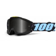 100% brýle dětské motokrosové Accuri JR Milkyway stříbrná zrcadlová skla