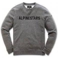 Pánská mikina Alpinestars Distance Fleece charcoal M