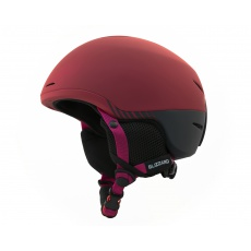 helma BLIZZARD Speed ski helmet junior, bordeaux matt/grey matt