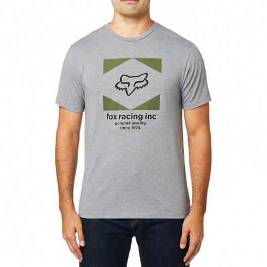 Pánské triko Fox Studio Ss Tech Tee Htr/Graphite
