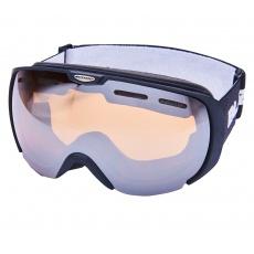 lyžařské brýle BLIZZARD Ski Gog. 921 MDAVZSO, black matt, amber2, silver mirror