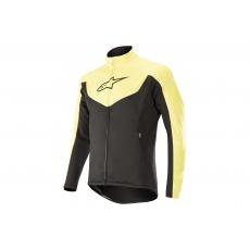 Alpinestars Mid Layer Jacket - Black/Acid Yellow
