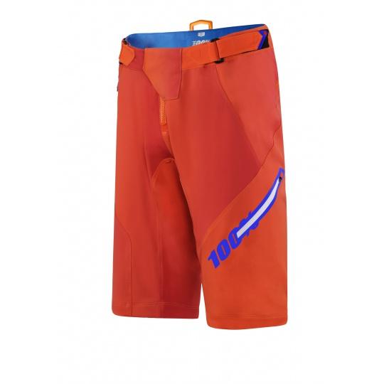 100% Airmatic BLAZE kraťasy Orange - 32