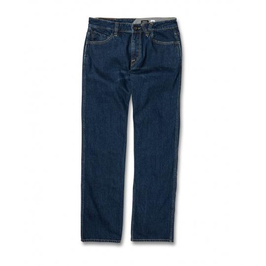 Pánské kalhoty Volcom Modown Denim Enzyme Dark Wash