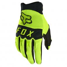 Dětské rukavice Fox Yth Dirtpaw Glove Fluo Yellow