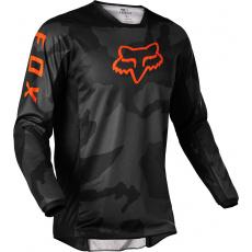 Pánský X dres Fox 180 Trev Jersey Black Camor