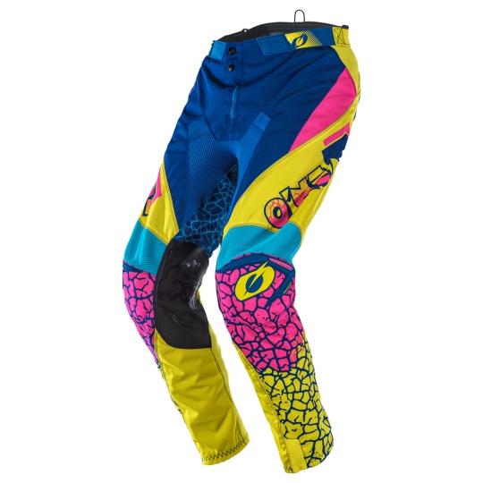 Kalhoty O´Neal Mayhem CRACKLE 91 žlutá/modrá