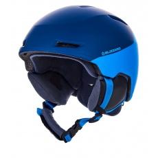 helma BLIZZARD Viper ski helmet junior, dark blue matt/bright blue matt