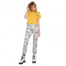 Dámské kalhoty Volcom Frochickie Highrise Star White