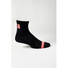 """Cyklo ponožky Fox 4"""" Flexair Merino Sock Black"""
