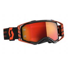 brýle PROSPECT, SCOTT - USA (oranžová/černá/ oranžové chrom plexi)