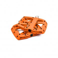 Base Flat Pedal | Composite Body | 22 Pins | Naranja