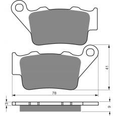 brzdové desky DP jako GF 023
