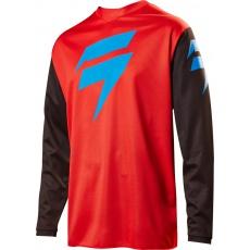 Pánský MX dres Shift Whit3 Ninety Seven Jersey Red