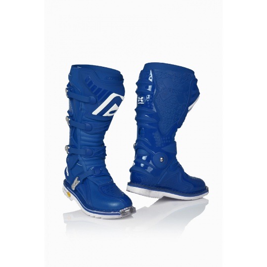 ACERBIS motokros boty X-MOVE 2.0 modré modrá