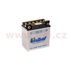 baterie 12V, YB9L-B, 9Ah, 130A, konvenční 135x75x139 FULBAT (vč. balení elektrolytu)