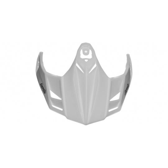 náhradní kšilt pro přilby COMMANDER, AIROH - Itálie (bílá)