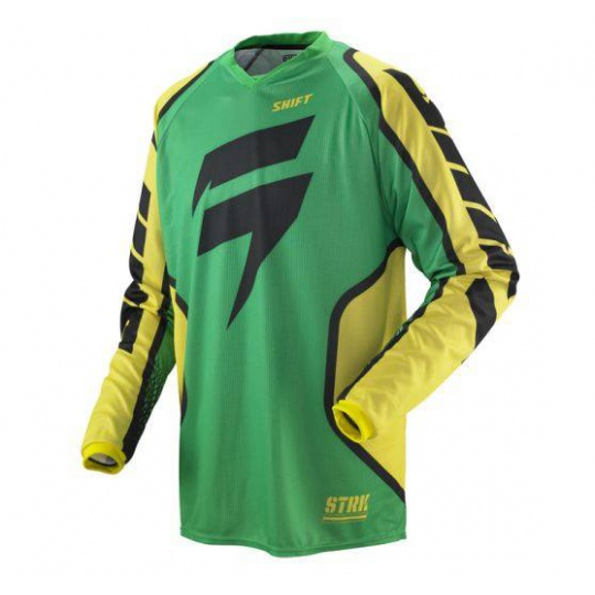 Shift Strike Retro Jersey GREEN