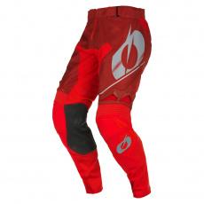 Kalhoty O´Neal Hardwear HAZE červená/šedá