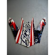 Kšilt SCORPION VX-20 AIR WIN WIN bílo/červeno/modrý