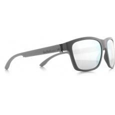 sluneční brýle RED BULL SPECT Sun glasses, WING2-003, dark grey, smoke with strong silver mirror, 57-17-145