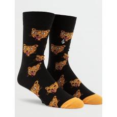 Pánské ponožky Volcom True Socks Orange