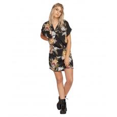 Dámské šaty Volcom Rag'N Flower Dress Black Combo