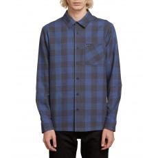Pánská košile Volcom Joneze L/ Indigo
