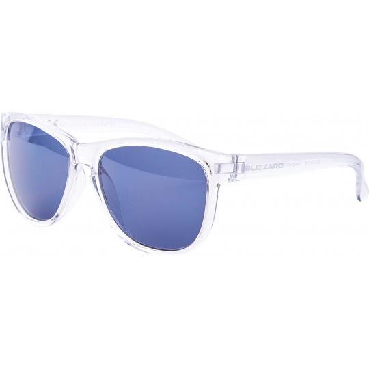 sluneční brýle BLIZZARD sun glasses PCC529337, trans. shiny , 55-13-118