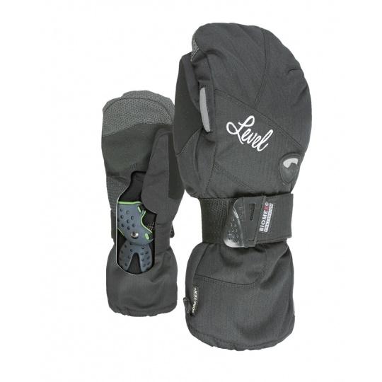 Dámské rukavice Level Half Pipe W Mitt Gore-Tex Black 6,5 -