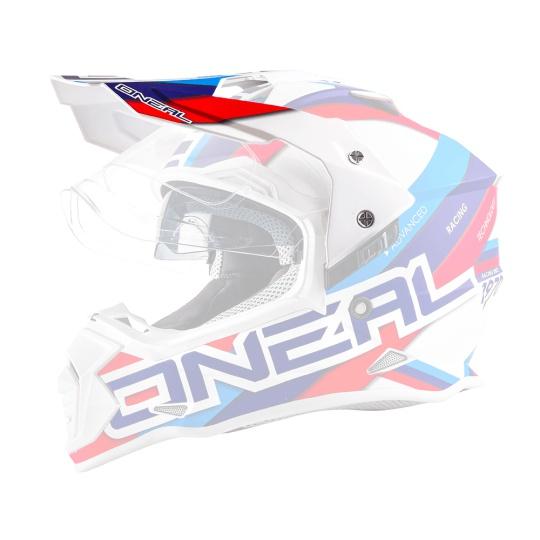 Náhradní kšilt k přilbě O´Neal Sierra II CIRCUIT bílá
