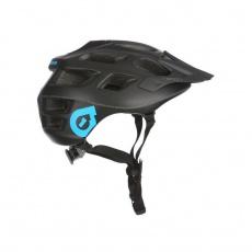 661 Recon helma Stealth černá / modré logo - velikost L/XL