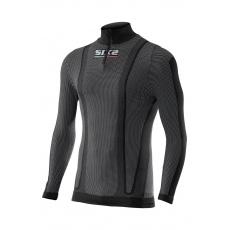SIXS TS13W funkční zateplené tričko s dl. rukávem, rolákem a zipem