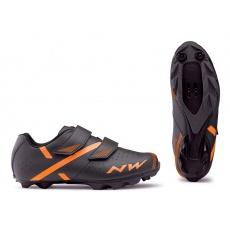 Pánské tretry Northwave Spike 2 Black/Orange -