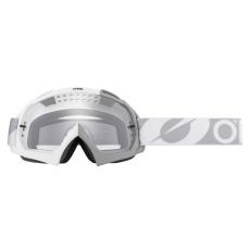 Brýle O´Neal B-10 TWOFACE bílá/šedá