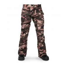 Dámské kalhoty Volcom eo9.0 Stretch Pant Faded Army