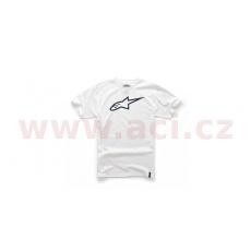 triko AGELESS krátký rukáv, ALPINESTARS (bílé/černé)
