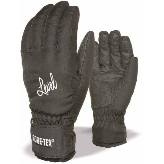 Dámské rukavice Level Energy W Gore-Tex Black