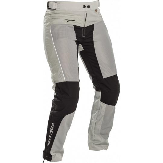 Dámské moto kalhoty RICHA COOL SUMMER černo/šedé zkrácené