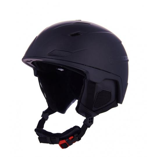 helma BLIZZARD Double ski helmet, black matt, big logo