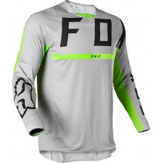 Pánský MX dres Fox 360 Merz Jersey teel Grey
