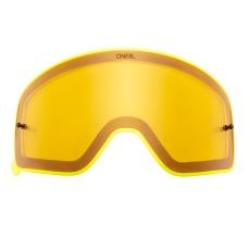 Náhradní sklo pro žluté O´Neal B-50 FORCE žluté