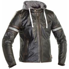 Moto bunda RICHA TOULON 2 černá kožená - nadměrná velikost