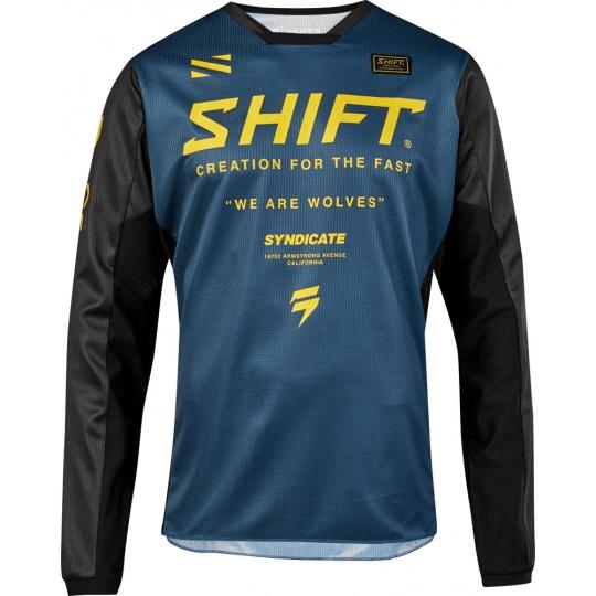 Pánský MX dres SHIFT Whit3 Muse Jersey Navy